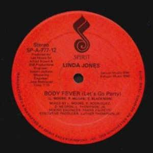 Single Cover Linda - Body Fever Jones