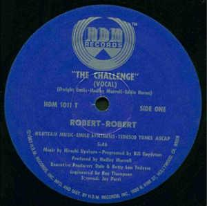 Single Cover Robert-robert - The Challenge