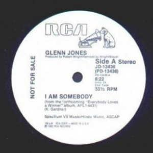 Single Cover Glenn - I Am Somebody Jones