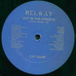 Single Cover Cat Claw - Out In The Streets