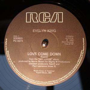 Single Cover Evelyn 'champagne' - Love Come Down King