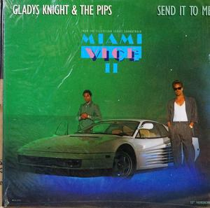 Single Cover Gladys - Send It To Me Knight & The Pips