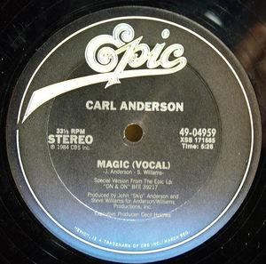 Single Cover Carl - Magic Anderson