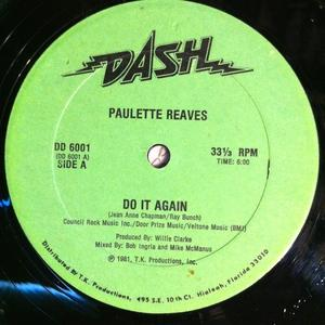 Single Cover Paulette - Do It Again Reaves
