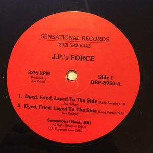 Single Cover Fried J.p.'s Force - Dyed