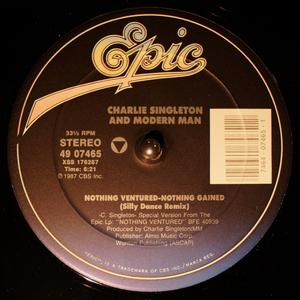 Single Cover Charlie - Nothing Ventured-nothing Gained Singleton
