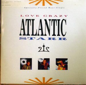 Single Cover Atlantic Starr - Love Crazy