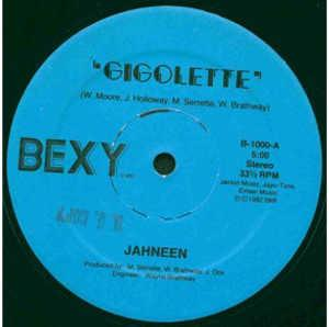 Single Cover Jahneen - Gigolette