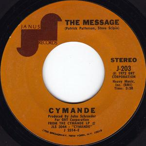 Single Cover Cymande - The Message