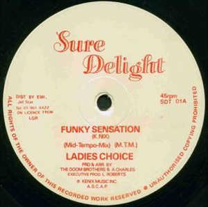 Single Cover Ladies Choice - Funky Sensation