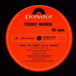 Single Cover Teeroy - Hold On Tight Morris