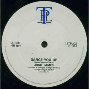 Single Cover Josie - Dance You Up James