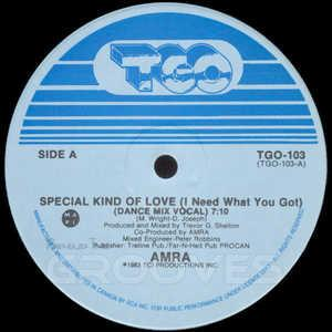 Single Cover Amra - Special Kind Of Love