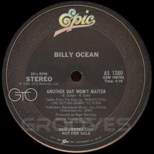 Single Cover Billy - Another Day Won't Matter Ocean