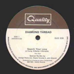 Single Cover Diamond Thread - Search Your Love