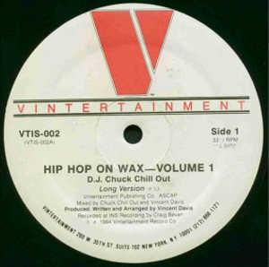 Single Cover D.j. Chuck Chill Out - Hip Hop On Wax-volume 1