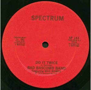 Single Cover Bad Bascomb Band - Do It Twice