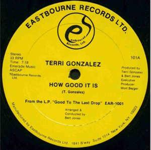 Single Cover Terri - How Good It Is Gonzalez