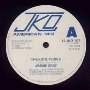 Single Cover Jimmie - The Kool People Gray