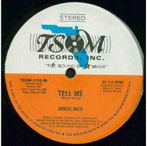 Single Cover Grace - Tell Me Rico