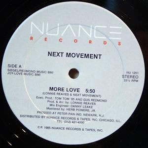 Single Cover The - More Love Next Movement