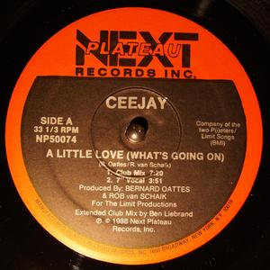 Single Cover Ceejay - A Little Love