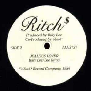 Single Cover Ritch - Jealous Lover