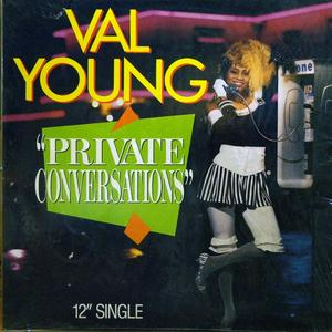 Single Cover Val - Private Conversations Young