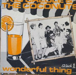 Single Cover Kid - I'm A Wonderful Thing Creole & The Coconuts