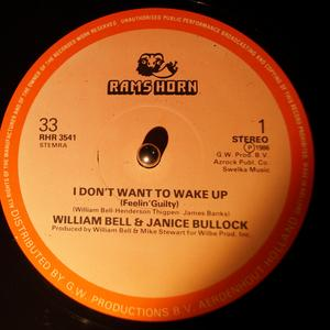 Single Cover William - I Don't Want To Wake Up Bell