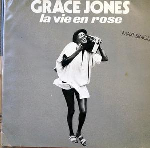 Single Cover Grace - La Vie En Rose Jones