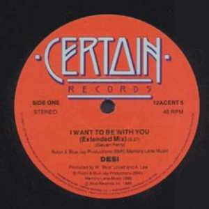Single Cover Desi - I Want To Be With You