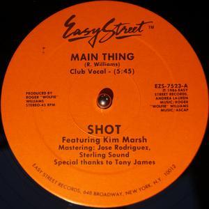 Single Cover Shot - Main Thing Feat. Kim Marsh