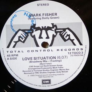 Single Cover Mark - Love Situation (feat. Dotty Green) Fisher