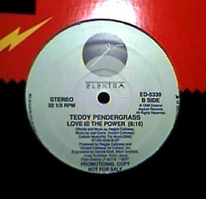 Single Cover Teddy - Love Is The Power Pendergrass