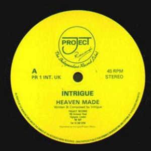 Single Cover Intrigue - Heaven Made