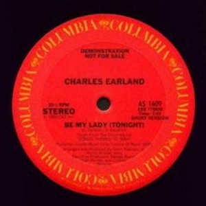Single Cover Charles - Be My Lady (tonight) Earland