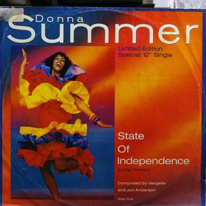 Single Cover Donna - State Of Independence Summer