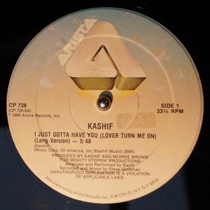 Single Cover Kashif - I Just Gotta Have You (lover Turn Me On)