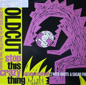 Single Cover Coldcut - Stop This Crazy Thing