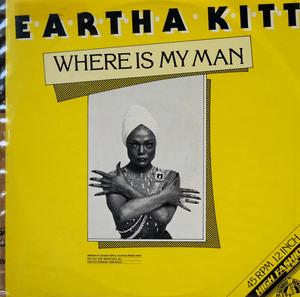 Single Cover Eartha - Where Is My Man Kitt