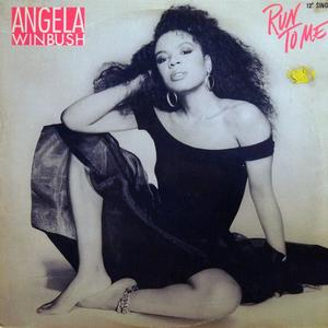 Single Cover Àngela - Run To Me Winbush