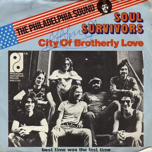 Single Cover Soul Survivors - City Of Brotherly Love