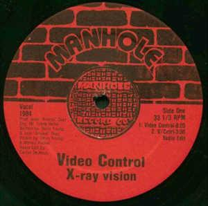 Single Cover X-ray Vision - Video Control