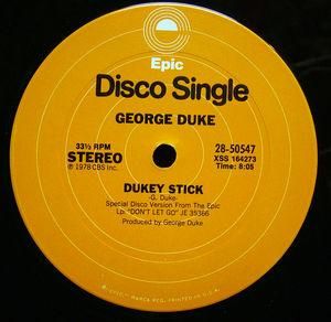 Single Cover George - Dukey Stick Duke