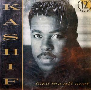 Single Cover Kashif - Love Me All Over