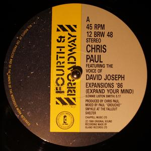 Single Cover Chris - Expansions '86 (expand Your Mind) Paul