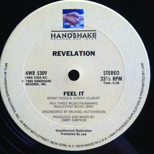 Single Cover Revelation - Feel It