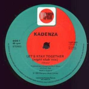 Single Cover Kadenza - Let's Stay Together