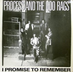 Single Cover Process And The Doo Rags - I Promise To Remember